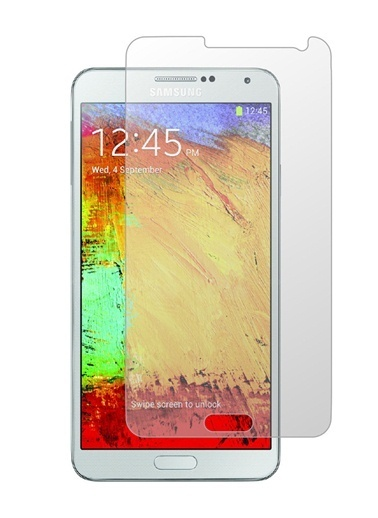 Screen Guard Note3  Tempered Glass Çizilmez Cam Ekran Koruyucu  Renksiz